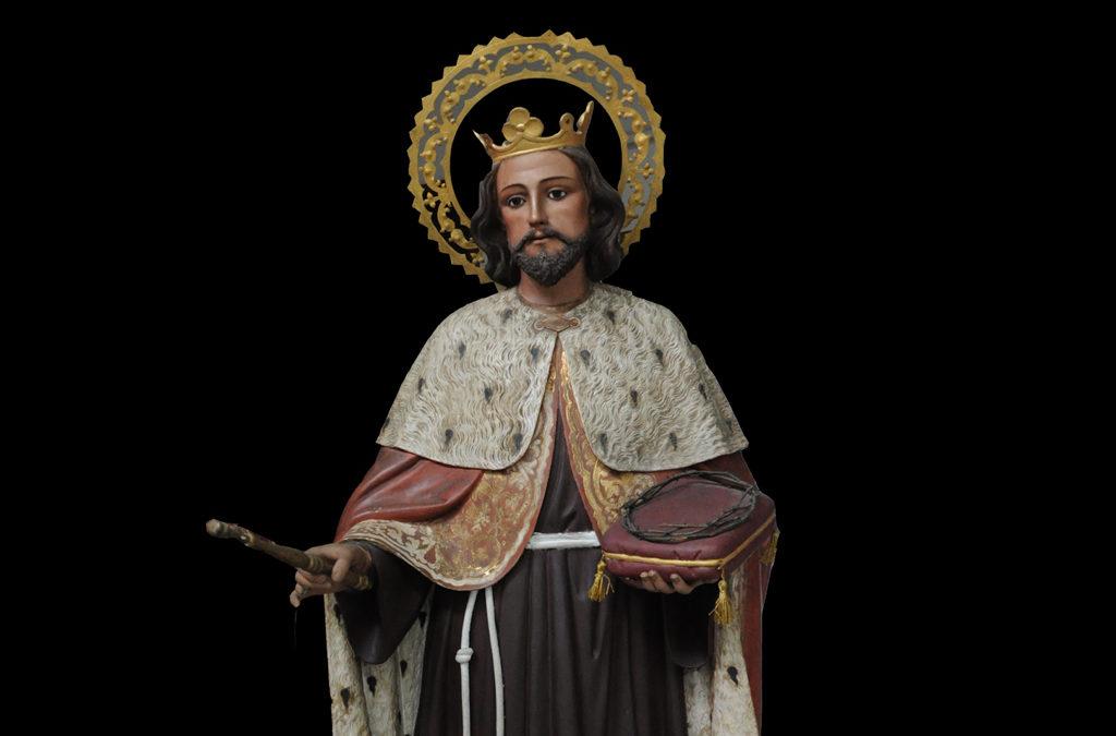 """SAN LUIS, """"Rey de Francia"""""""
