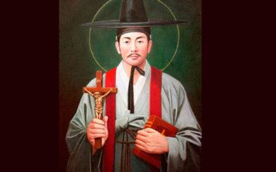 San Andrés Kim Taegön y compañeros