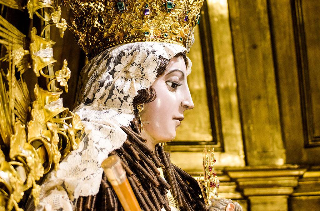 """Nuestra Señora del Rosario """"Patrona de la Ciudad de Guatemala"""""""