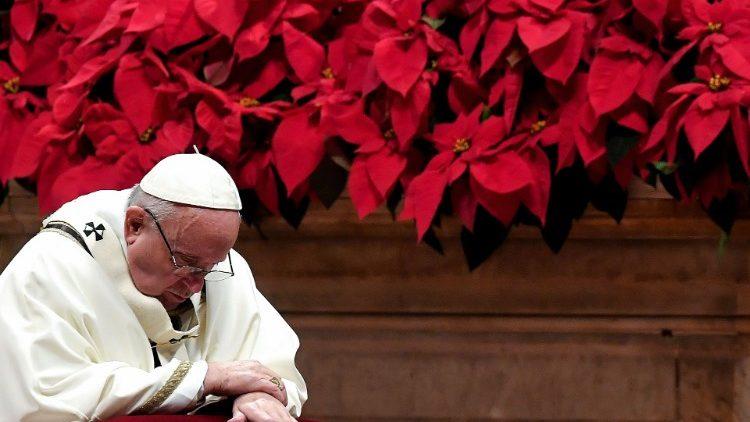 En el día de los Santos Inocentes el Papa invita a acoger en Jesús el amor de Dios