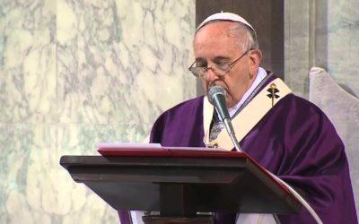 Mensaje del Papa Francisco para la Cuaresma de 2019