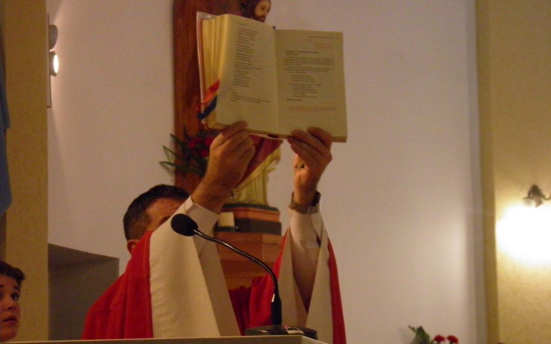 Lectura del Santo Evangelio según San Marcos (6,14-29):