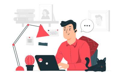 Hábitos de éxito de una organización en teletrabajo