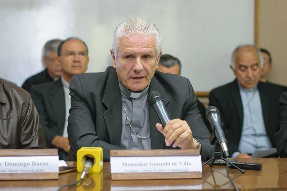 El Papa Francisco asigna a Mons. Gonzalo de Villa y Vásquez Arzobispo Metropolitano para la Arquidiócesis de Santiago de Guatemala
