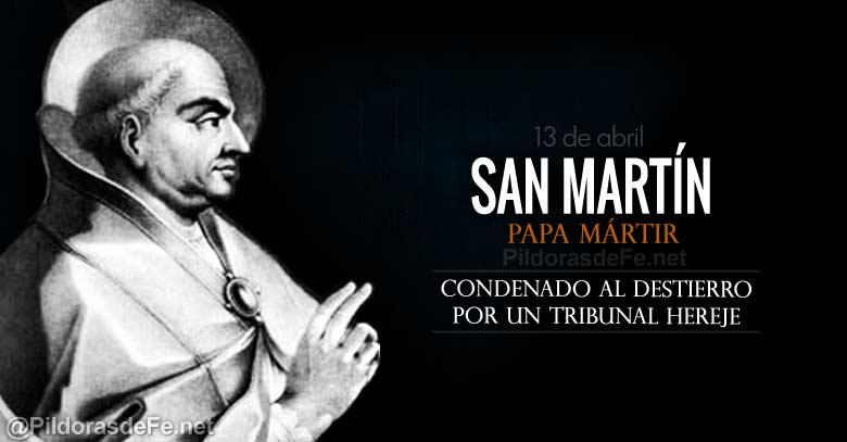 San Martín, Papa