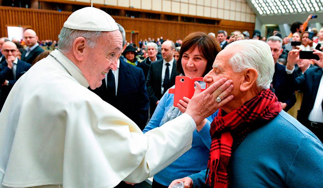 Mensaje del Santo Padre Francisco para la Primera Jornada Mundial de los Abuelos y de los Mayores